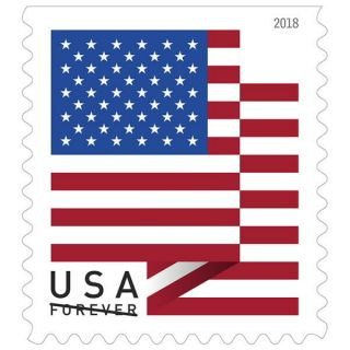Usps Us Flag 2018 Coil Of 100