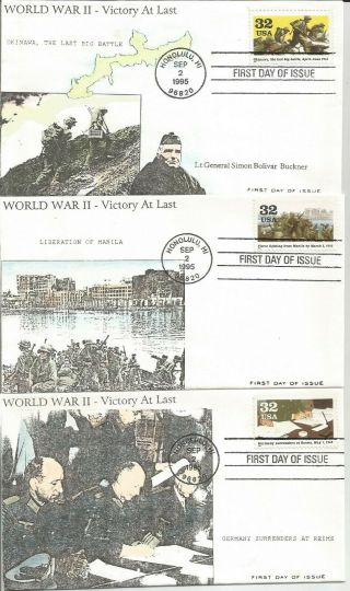6 World War Ii 1945 Fdc