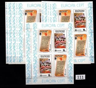 // 12x Turkish Cyprus - Mnh - Europa Cept - 1982 - Art