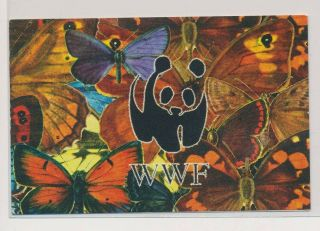 Lk71769 Udmurtia Insects Bugs Flora Butterflies Wwf Booklet Mnh.  Private Issue