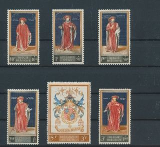 Lk73095 Belgium Paintings Art Fine Lot Mnh