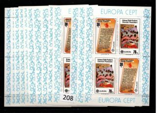 /// 13x Turkish Cyprus - Mnh - Europa Cept 1982 - Art - Painting