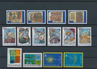 Lk67446 Vatican Church Art Religion Fine Lot Mnh