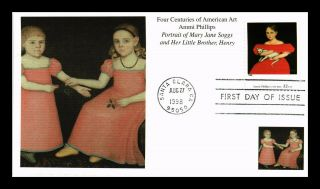 Dr Jim Stamps Us Ammi Philips Four Centuries American Art Fdc Mystic Cover