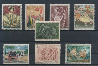 Lk56313 France Paintings Art Fine Lot Mnh