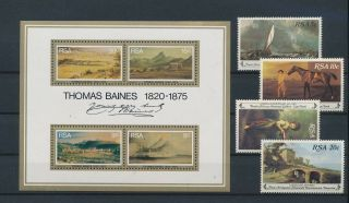 Lk54706 South Africa Landscapes Art Paintings Fine Lot Mnh