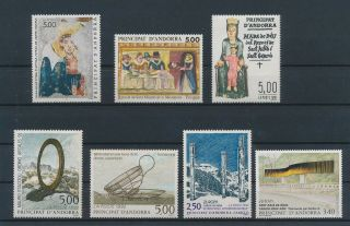 Lk53752 Andorra Art Paintings Fine Lot Mnh