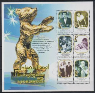O279.  Grenada - Mnh - Art - Cinema - Famous People - Actors