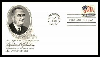 Mayfairstamps Us Event 1965 Inauguration Of Lyndon B Johnson Art Craft Washingto