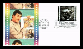 Dr Jim Stamps Us Art Direction Film Making Behind The Scenes Fdc Fleetwood Cover