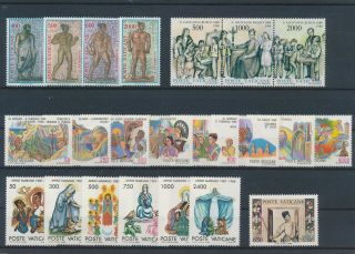 Lk83869 Vatican Church Art Religion Fine Lot Mnh