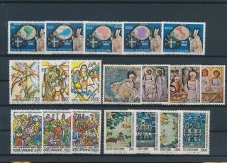 Lk83866 Vatican Church Art Religion Fine Lot Mnh