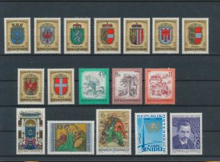 Lk81701 Austria Religious Art Coat Of Arms Fine Lot Mnh
