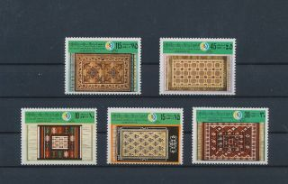 Lk72610 Libya Tapestry Art Fine Lot Mnh