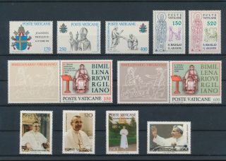 Lk59383 Vatican Church Art Religion Fine Lot Mnh