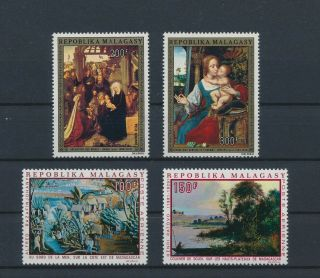 Lk57083 Madagascar Paintings Art Fine Lot Mnh