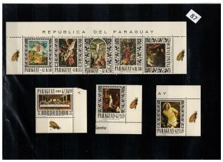,  Paraguay - Mnh - Religion - Painting