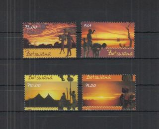 H678.  Botswana - Mnh - Art - Nature - People