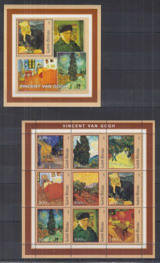 N703.  Guinea - Bissau - Mnh - Art - Paintings - Vincent Van Gogh