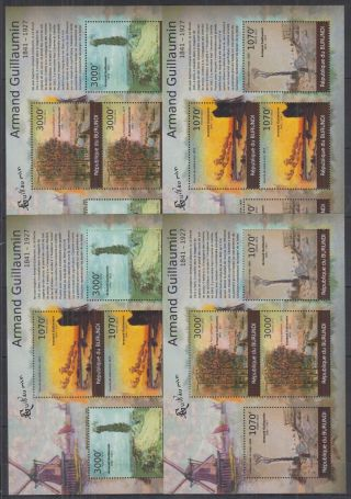 N942.  Burundi - Mnh - Art - Paintings - Armand Gauillaumin