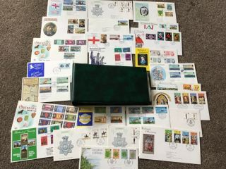 Album Full Of First Day Covers Fdc Special Postmarks Limited Edition