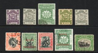 North Borneo 10 Stamps Mainly (7)