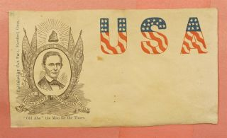 1860s Front Only Abraham Lincoln For President Civil War Patriotic