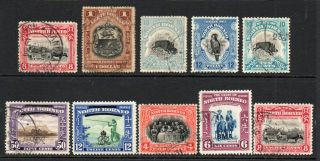 North Borneo 10 Stamps Mainly (8)