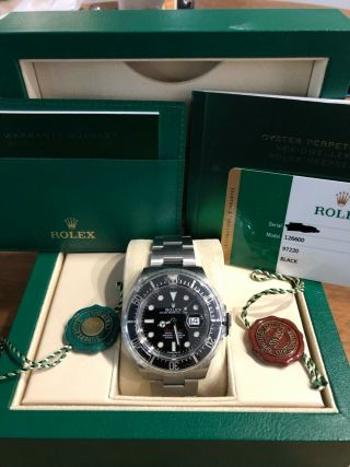 Rolex Red Sea - Dweller 43mm 50th Anniversary 126600.  Dated 07/2018