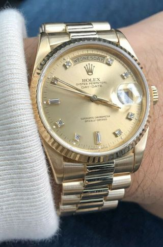 Rolex Daydate 36mm Gold