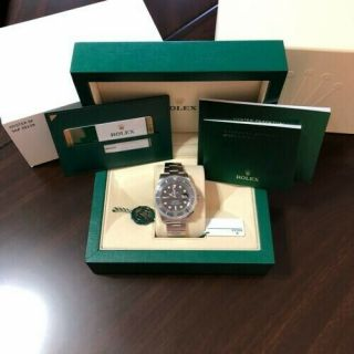 Nov 2019 Rolex Submariner Date 116610 Ln Black Ceramic 40mm Dive Watch
