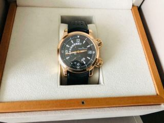 Jaeger Lecoultre Master Compressor 18k Gold Watch