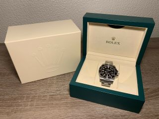 2019 Rolex Submariner 116610LN Black 2
