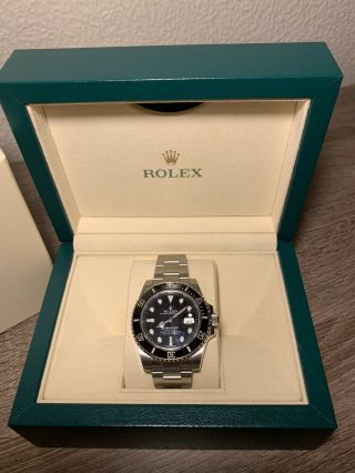 2019 Rolex Submariner 116610LN Black 3