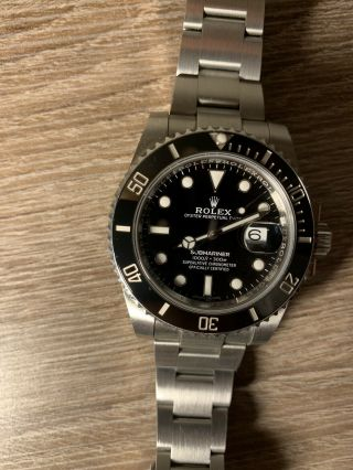 2019 Rolex Submariner 116610LN Black 5