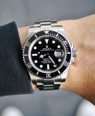 Rolex Submariner 116610ln Black Ceramic Stainless Steel - Box & Papers