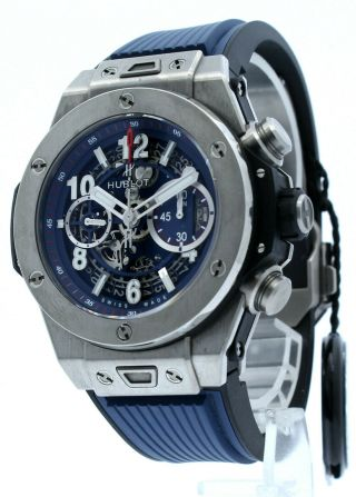 Hublot Big Bang Unico Titanium Flyback Chronograph Automatic Ref: 411.  Nx.  5179.  Rx