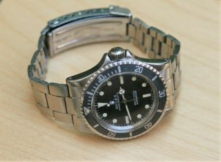Rolex 5513 Submariner From 1971 Very With 9315 Bracelet 280 Ends