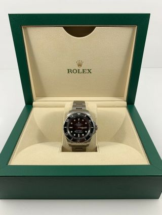 Rolex Deepsea Sea - Dweller 116660 Black Dial Steel Mens Watch 2017