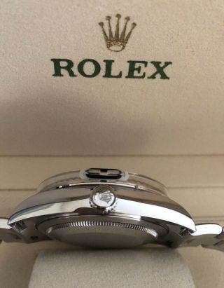 Rolex Sky Dweller Blue Baton 2019 Stainless / White Gold 6