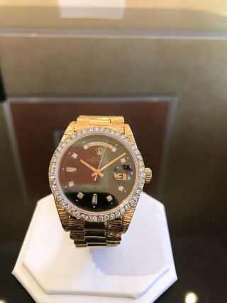 Rolex Day Date 18k Yellow Gold President Band 18038