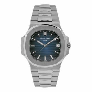 Patek Philippe Nautilus Stainless Steel Blue Dial 40mm Watch 5711/1a - 010