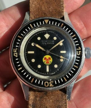 Vintage Blancpain Fifty Fathoms No Radiations 2