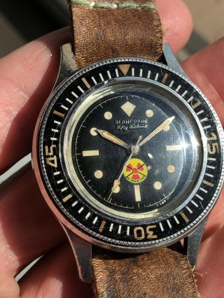 Vintage Blancpain Fifty Fathoms No Radiations 3