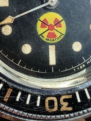 Vintage Blancpain Fifty Fathoms No Radiations 6