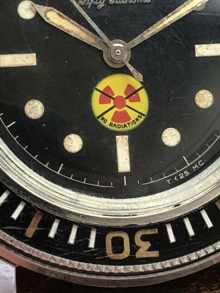Vintage Blancpain Fifty Fathoms No Radiations 7