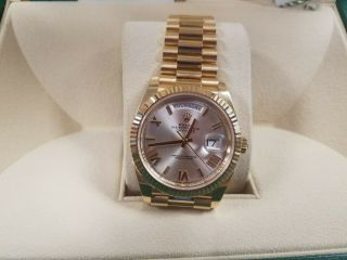 Rolex Day - Date Auto 40 Mm Yellow Gold Men