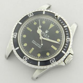 Rolex Submariner 5513 200 Meters First Vintage Watch 100 1967 Diver