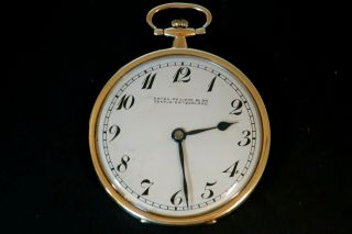 Patek Philippe Gold And Platinum Pocket Watch