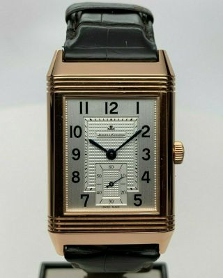 Jaeger - Lecoultre Grande Reverso Ref 273.  2.  04 18kt Rose Gold Swiss Mechanical - Nr